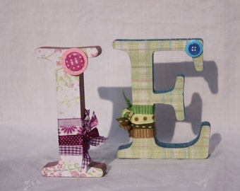 Personalised Letter/Number/Name