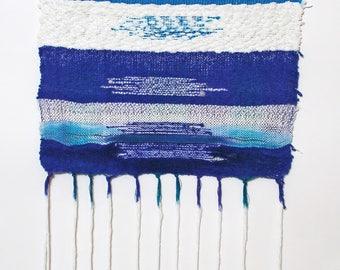 Essaouirra, handmade, tapestry, loom, woven, textile art, fiber art, weave, wall art