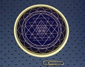 Sri Yantra - Sacred geometry Bumper Sticker