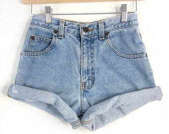 Vintage High Waisted Jean Shorts Cut off All Sizes, ALL BRANDS,High Rise Plus Size