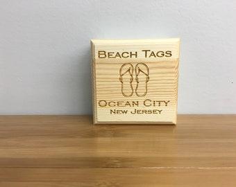 Beach Tag Box (Flip Flops)