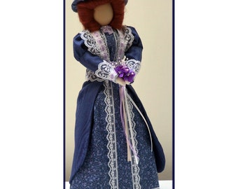 Flossie Victorian Lady Art Doll E-Pattern