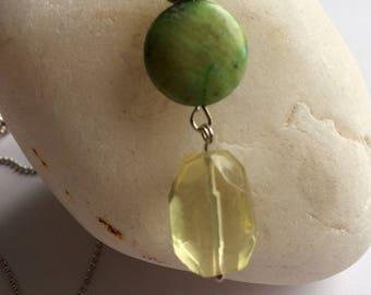 Lemon and lime pendant