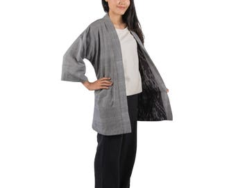 Reversible Kimono Jacket — Handwoven and Naturally-Dyed in Thailand