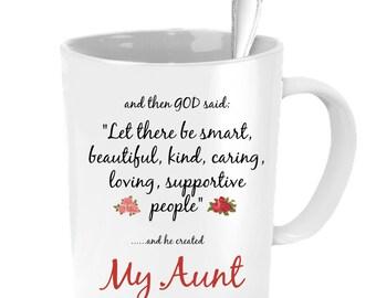 Aunt Mug, Aunt Wedding Gift, Aunt Coffee Mug, Aunt Gift, Gifts For Aunts, Aunt Necklace, Personalized Wedding Gift, Custom Wedding Favors