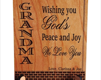 Grandma Gift - Gifts for Grandmother Mothers Day Personalized - Grandma Birthday Gift - Nana Gift, PGM017