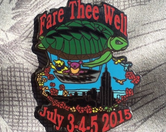 Fare Thee Well GD50 Grateful Dead Pin