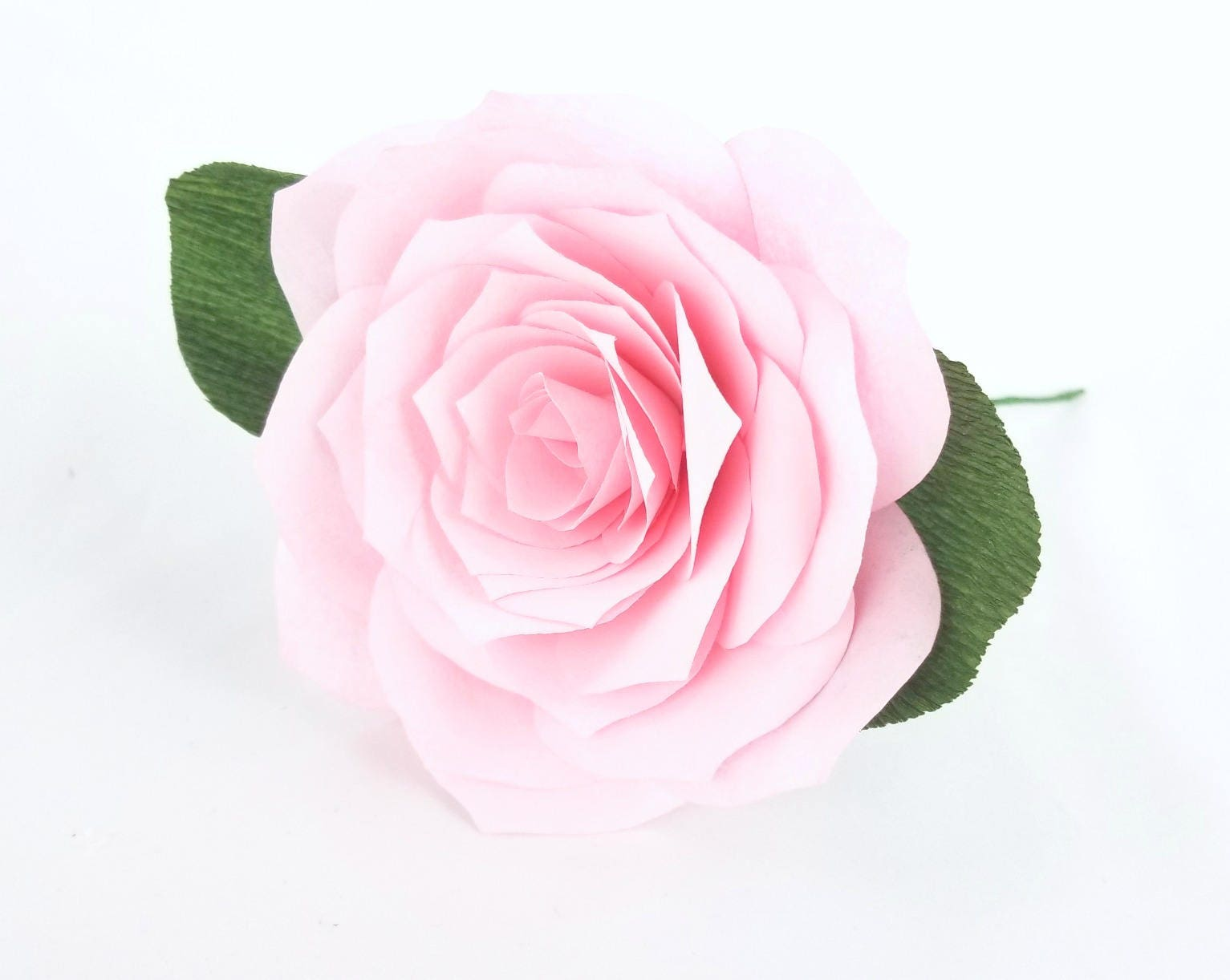 Paper Roses Cake Flowers Coffee Filter Roses Paper Flowers