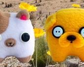 Adventure Time Cake Stuffed Animal