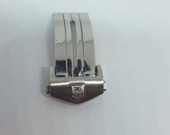 18mm NEW High Quality  Stainless steel Deployment Clasp fot tag heuer watches