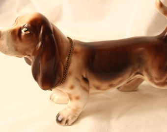 Champion Basset Hound Animal Figurine