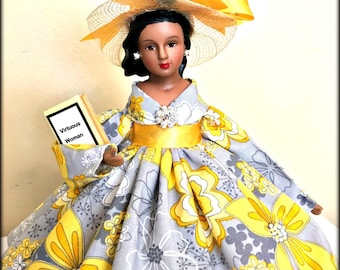 Virtuous Woman Doll, Brown Skinned Porcelain Inspirational Doll, Proverbs 31 Doll, Black Doll, Latina Doll, Indian Doll