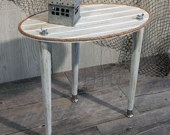 Nautical end table Etsy