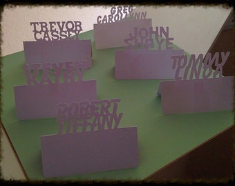 Personalized Place Card Settings