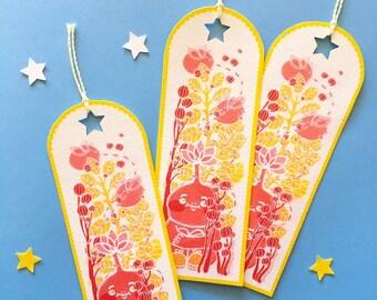 ol' flowerhead bookmark