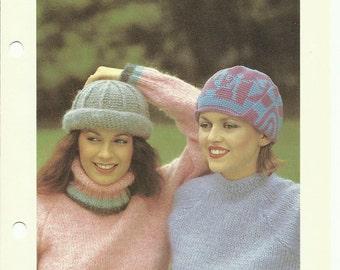 Top hats two easy crochet hat patterns digital download