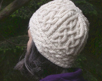 Iona Hat (PDF knitting pattern)