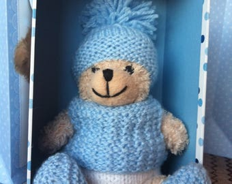 Baba Bear in a box