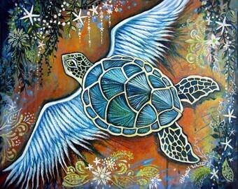 Bohemian Turtle, Key West, Florida