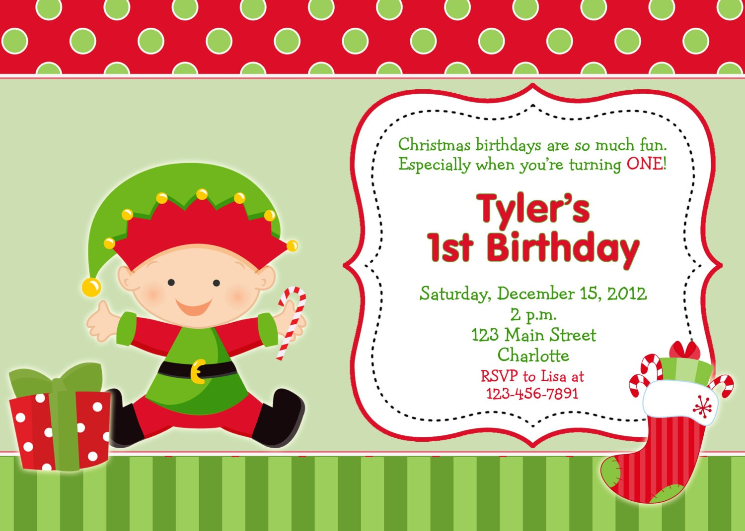 christmas themed birthday party invitations Intoanysearchco