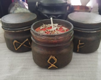 Rune Candles