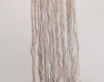 Pastel Yarn Wall Hanging