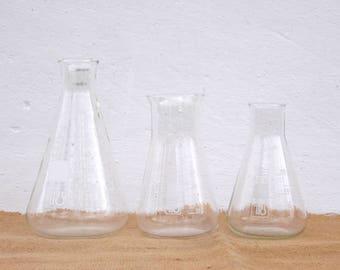 Antique Laboratory Glass - Measuring Glass - Chemistry - Collectible Glass - Laboratory Style - Vintage Medicine - Loft Decor