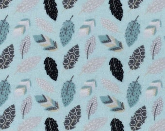 aztec feather print, aztec feather fabric, feather fabric, fabic by the yard nursery fabric indian fabric flannel fabric, cotton by the yard