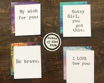 Love Notes to My Daughter - LunchBox Notes - Kids Stationery - Mini Cards - Girl Power Inspiration