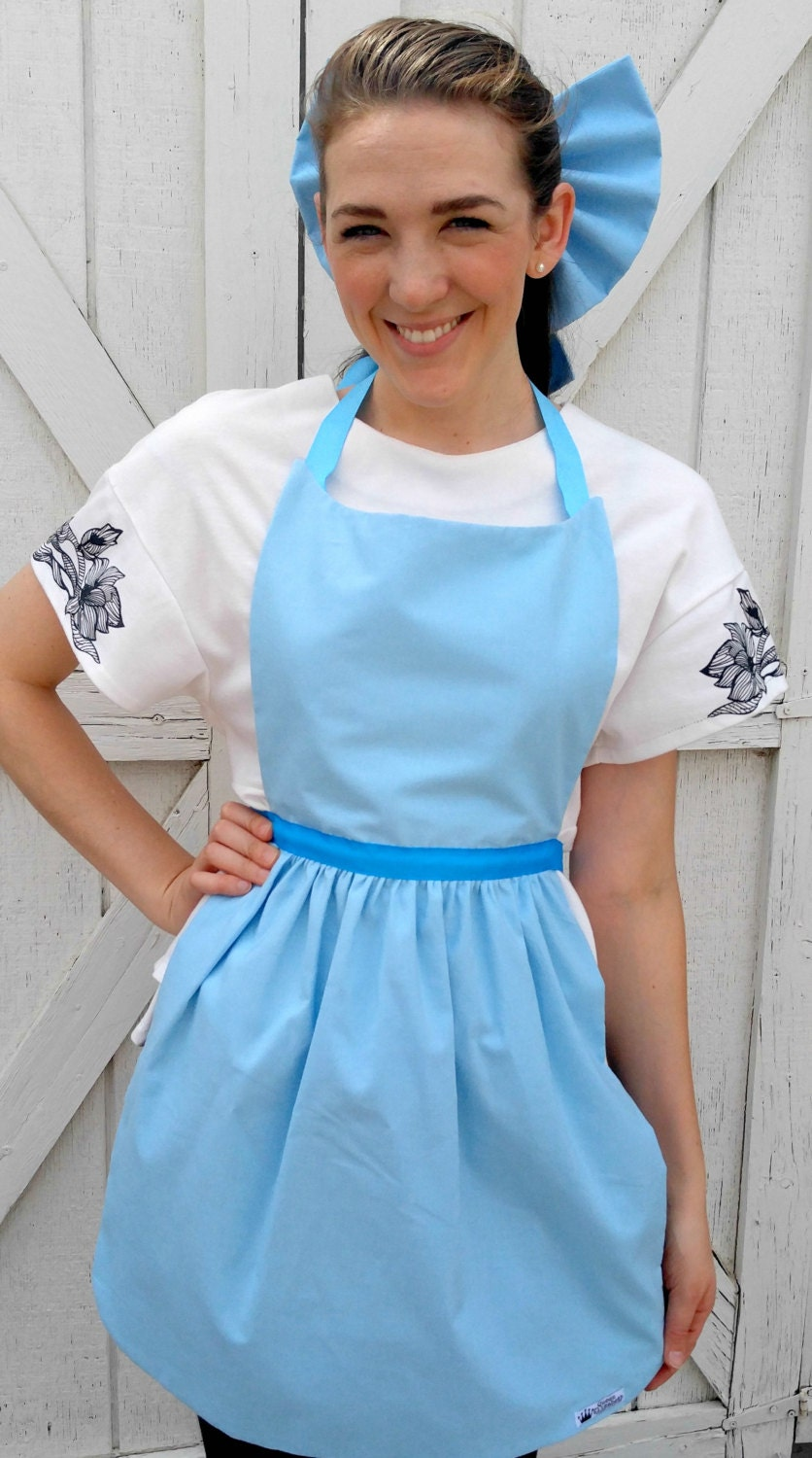 WENDY DARLING of Peter Pan Disney inspired Costume Apron PDF Sewng ...