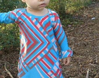 Lilac Lane Dress Girls Dress Sewing Pattern PDF, Girl Dress Pattern for Girls, Girl Sewing Pattern for Kids, pdf Sewing Pattern, Sizes 9m-6T