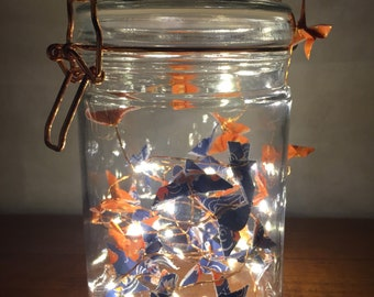 Origami butterfly Twinkle Jar - 700ml