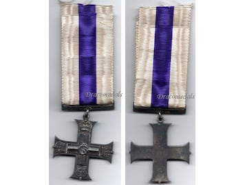 Britain WW1 Medal Military Cross MC George V British Decoration WWI 1914 1918 Meritorious Service Great War