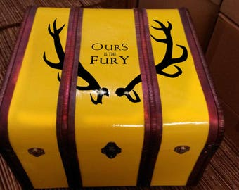 Baratheon Sigil Trunk - Ours is the Fury