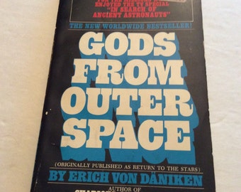Gods From Outer Space, Space Travel,Unexplained Mystery, Space Exploration,Outer Space, Science Fiction,Archeology,UFO Book,Extraterrestrial