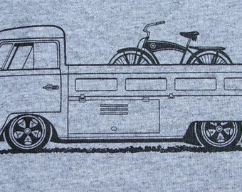 Bicycle T Shirt Bike with VW Singlecab