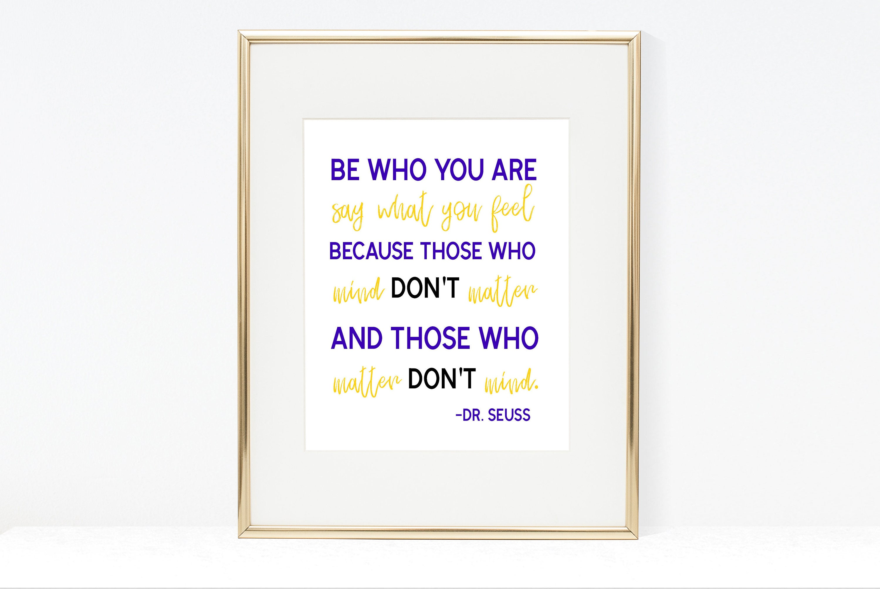 Dr Seuss Weird Love Quote Poster Be Who You Are Drseuss Quote Printable Drseuss Wall Art