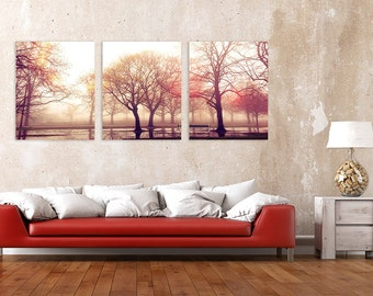 Printable Landscape triptych wall art, landscape photography, landscape panoramic, three piece wall art, DIGITAL DOWNLOAD