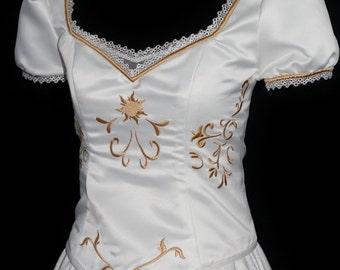 Adult Rapunzel Wedding Costume Custom Made