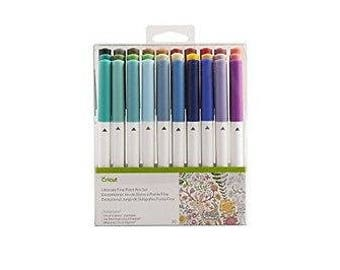 CRICUT Ultimate Fine Point Pen Set -- 30 Color Set