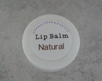 All Natural Lip Balm - Unscented