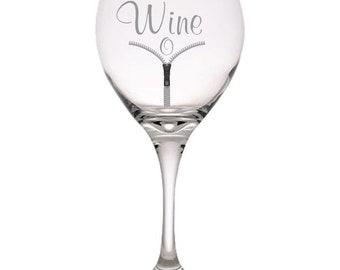 Wine-O Red Wine Glass