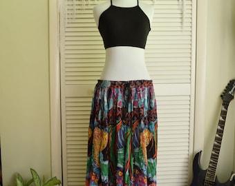 Tropical Fish Skirt - 100% cotton