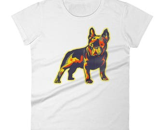 French Bulldog Clothing Women's Frenchie T Shirt