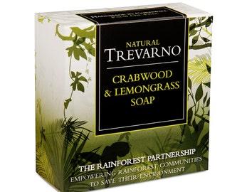 Trevarno Crabwood & Lemongrass Soap
