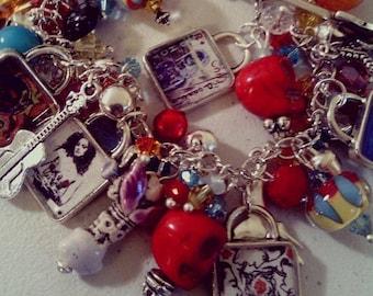 CUSTOM Album Cover Charm Bracelet