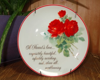 Lasting Memories Decorative Plate / American Greetings Plate / Decorative Plate