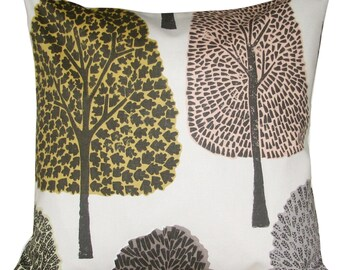 Scion Cedar Levande Blush & Toffee Woodland Cushion Cover