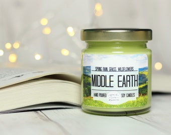 Middle Earth | 4oz Tolkien Inspired Candle