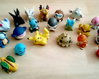 SELECTION OF POKÉMON - Custom: Pokemon Finger Puppet Pokeball Terrarium / Custom Pokemon Gift / Pokeball Diorama / Fairy Garden (choose one)